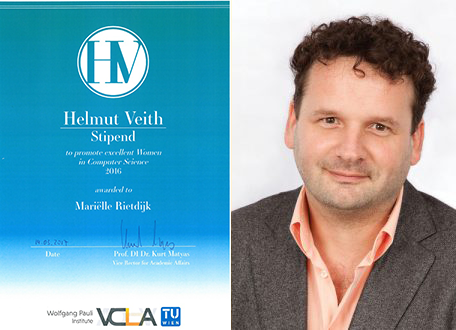 Helmut Veith Stipend Award Ceremony